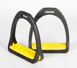 Afbeelding vanCompositi Profile Premium Stijgbeugels geel ADULT