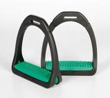 Afbeelding vanCompositi Profile Premium Stijgbeugels groen ADULT