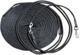Afbeelding vanHarry's Horse Dubbele longeerlijn zwart ONESIZE