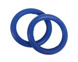 Afbeelding vanQHP Set Elastische ringen voor veiligeheidsbeugels kobaltblauw ONESIZE