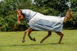 Afbeelding vanBucas Buzz Off Rain Full Neck Paardendekens 125/168cm
