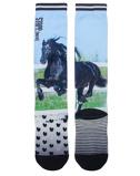Afbeelding vanStapp horse Kniekous Black Print zwart 35 38