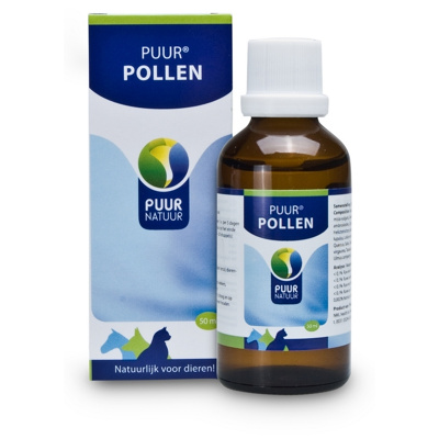 Afbeelding van Puur Natuur Pollen Supplement Luchtwegen 50 ml