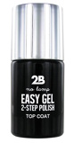 Afbeelding van2b Nagellak easy gel 2 step polish 500 top coat 1 Stuk