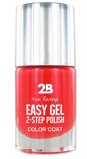 Afbeelding van2b Nagellak easy gel 2 step polish 505 crazy papaya 1 Stuk