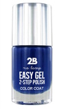 Afbeelding van2b Nagellak easy gel 2 step polish 509 kings blue 1 Stuk