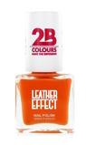 Afbeelding van2b Nagellak leather effect 616 orange 1 Stuk
