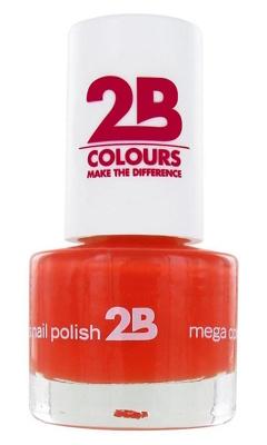 Afbeelding van 2B Nagellak Mega Colours Mini 17 Crazy Orange