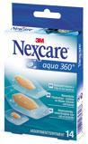 Afbeelding vanNexcare Aqua 360 Assorti Pleisters, 14 stuks
