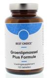 Afbeelding vanBest Choice Groenlipmossel Plus Formule Tabletten 120TB
