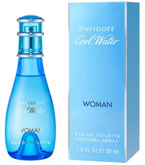 Afbeelding van Davidoff Cool Water Woman 30 ml eau de toilette spray