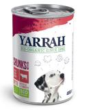 Afbeelding vanYarrah Biologisch Hondenvoer Chunks met Kip en Rund 820GR