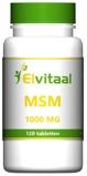 Afbeelding vanElvitaal MSM 1000 mg (120 tabletten)