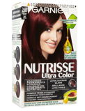 Afbeelding vanGarnier Nutrisse Ultra Color 2.6 Kersen Zwart (1set)