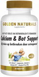 Afbeelding vanGolden Naturals Calcium & Bot Support Tabletten 60VTB