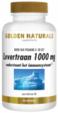 Afbeelding vanGolden Naturals Levertraan 1000mg 90 softgel capsules