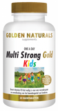 Afbeelding vanGolden Naturals Multi strong gold kids 60 kauwtabletten