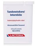 Afbeelding vanLactona Tandenstokers Intersticks, 100 stuks