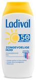 Afbeelding vanLadival Zonnebrand gel zongevoelige huid factor 50+ 200 ml
