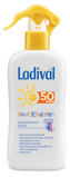 Afbeelding vanLadival Zonnebrand melk spray kind spf 50+ 200 ml