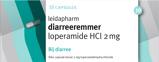 Afbeelding vanLeidapharm Diarreeremmer Loperamide 2 mg 10 capsules