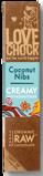Afbeelding vanLovechock Creamy Coconut Nibs, 40 gram