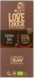 Afbeelding vanLovechock Extreme dark 99% cacao 8 x 70 Gram