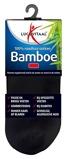 Afbeelding vanLucovitaal Bamboe sneakersok zwart 47 50 1 paar