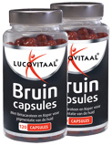 Afbeelding vanLucovitaal Bruin 2 x 120 capsules (240 capsules)