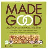 Afbeelding vanmade good Appel cinnamon granola bars 144 gram
