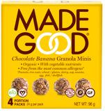 Afbeelding vanMade Good Granola minis chocolate banana 24 gram (4 zakjes)