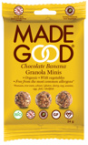 Afbeelding vanMade Good Granola minis chocolade banaan (24 gram)