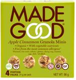 Afbeelding vanMade Good Granola Minis Apple Cinnamon 24 gram, 4x24 gram