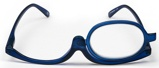 Afbeelding vanMelleson Optics Make up Bril Blauw +2.50
