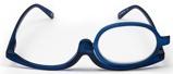 Afbeelding vanMelleson Optics Make up Bril Blauw +4.00