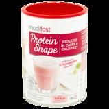 Afbeelding vanModifast Protein Shape Milkshake Aardbei (Afslankshake) (540g)