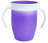Afbeelding vanMunchkin 207ml 6m+ Miracle 360 Trainer Cup Paars Anti Lek Beker