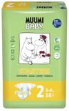 Afbeelding vanMuumi Baby Ecologische luiers 2 mini 58st