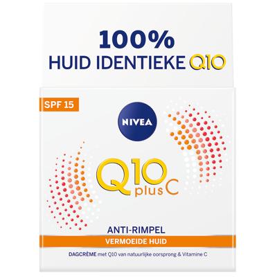 Afbeelding van Nivea Q10 Plus C Anti Rimpel +Energy Dagcreme SPF 15 50 ml