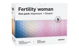 Afbeelding vanNutriphyt Fertility woman duo 2 x 60 capsules (120 capsules)