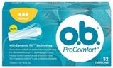 Afbeelding vanO.B. Procomfort tampons original 32 stuks