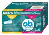 Afbeelding vanO.B. Tampons procomfort mini 24 + normaal 16 combi 40st
