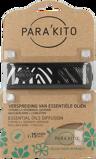 Afbeelding vanParakito Armband Design Zwart met 2 tabletten, 1 stuks