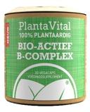 Afbeelding vanPlantavital Bio Actief B complex 100% Plantaardig, 30 Veg. capsules