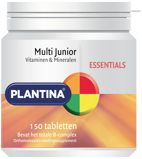 Afbeelding vanPlantina Essentials Multi Junior Tabletten 150TB