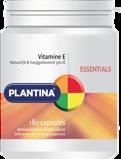 Afbeelding vanPlantina Essentials Vitamine E Capsules 180CP