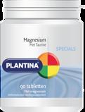 Afbeelding vanPlantina Magnesium Met Taurine (90Tab) OPA6014