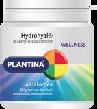 Afbeelding vanPlantina Wellness Hydrohyal® Tabetten 45TB