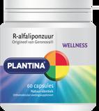 Afbeelding vanPlantina R Alfaliponzuur natuurlijk (60 capsules)