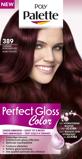 Afbeelding vanSchwarzkopf Poly Palette Perfect Gloss haarkleuring 389 Donker Robijnrood